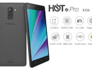 Infinix Hot 4 Pro Garansi Resmi