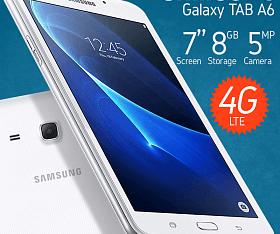 Samsung Tab A6 T285 Lte garansi resmi sein layar 7 inch ram 1.5gb