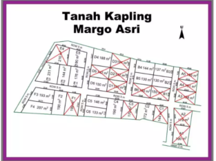 Beli Tanah Kapling Dengan Site Lokasi Rapi, Margoasri Permai