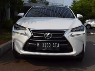 Lexus Nx 200 Luxury (CBU) At Th 14 pk Th 15 putih km 26rb