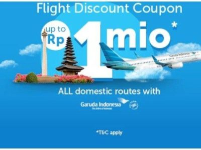 Kode Promo Tiket Pesawat Garuda Indonesia Rute Domestik
