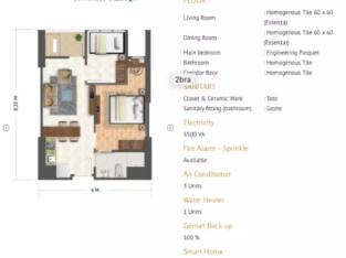 Jual Rugi (take over) Apartment Sysnthesis Residence Kemang 2BR