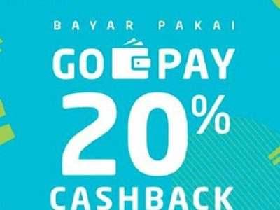 Promo Go-Jek Bulan April 2019 – Cashback 20 Persen Berbagai Merchant Makanan dan Minuman