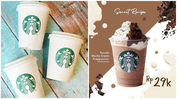 Promo Starbucks – Tuxedo Mocha Cream Frappuccino Hanya Rp 29 Ribu, Berlaku 4 April 2019 Saja