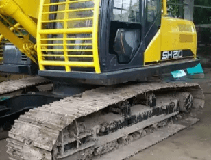 Excavator bego Sumitomo SH210-5,skelas komatsu PC200. thn 2013.HM3rb