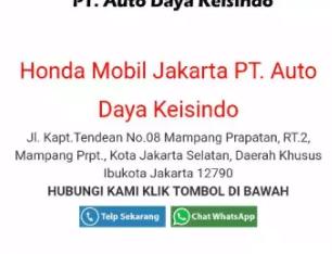 Lowongan Sales Consultan Honda Tendean walk in interview