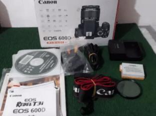 Kamera dslr canon 600D sc 4xx mulus seperti baru istimewah box