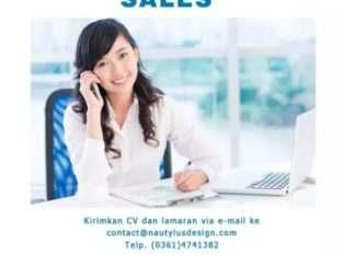 Lowongan Kerja Sales Berpengalaman
