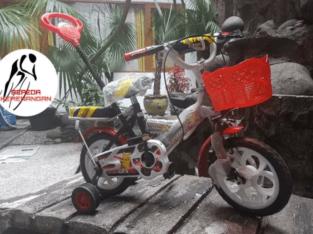 Sepeda Anak Pikachu Untuk Usia 2 – 5 Tahun (Memakai Dorongan)