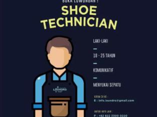 WE'RE HIRING !! Shoes Technician/Shop Keeper LAUNDRO SHOES Jakarta