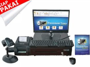 Paket Komputer Kasir Komplit Siap Pakai Garansi 1 Tahun