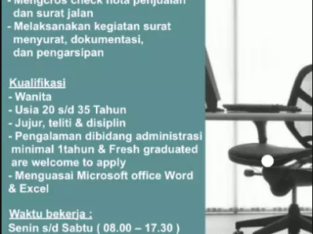 Admin distributor PERTAMINA Lubricant PT.Karya Harum Bakti
