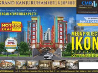 Dijual Unit Kostel dengan sarana terlengkap setara Apartemen di Malang