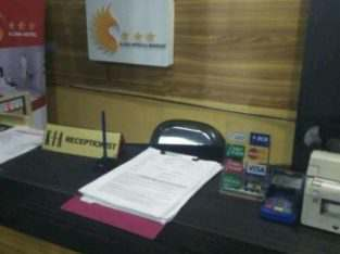 Di buka lowongan receptionist di hostel