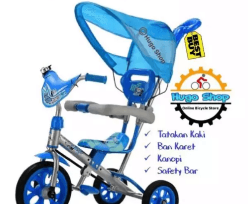 Sepeda Anak Exotic Et 1255 7-8 Silver Blue