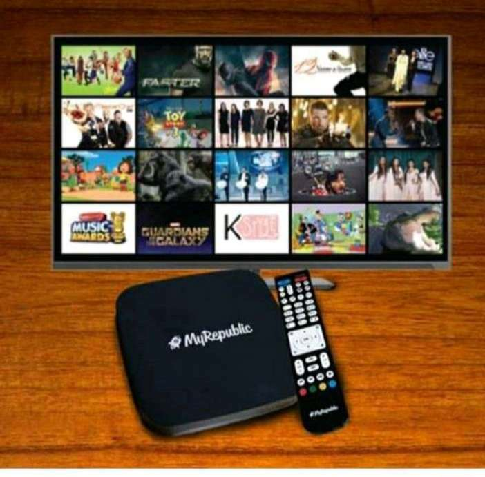 Internet WiFi Tv Cable My Republic dan Fiber star From Sinar Mas