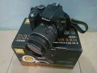 Nikon D3300 Bener2 kaya baru/ SC baru 2 ribu
