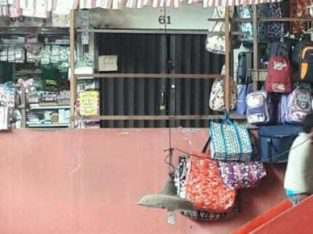 Jual Ruko kios di pasar 45 Palembang