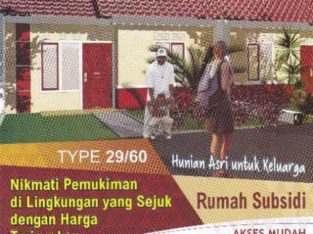Rumah Murah Bersubsidi Ambar Kemang Regency