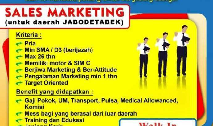 sales marketing bekasi