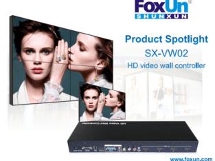 SX-VW02 Mixed Input Splitter HD Video Wall Controller 2×2