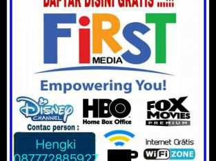 FIRST MEDIA Intrrnet dan Tv Kabel