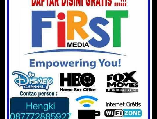 FIRST MEDIA Intrrnet dan Tv Kabel