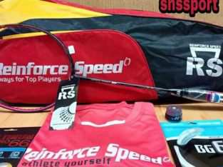 Raket Badminton Bulutangkis RS MICRON SABER 10 black Original