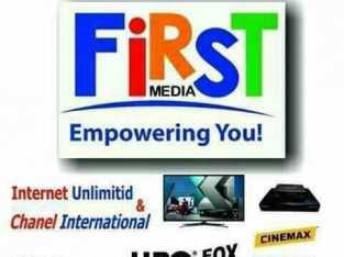 Internet dan Tv Kabel FIRST MEDIA