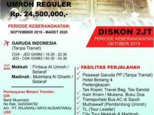 Paket Umroh Murah ( CP 089619661801)