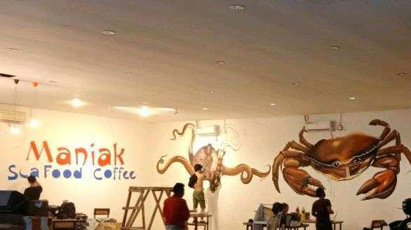 Lowongan Cook & Digital Marketing & Desain For Maniak Seafood & Coffee