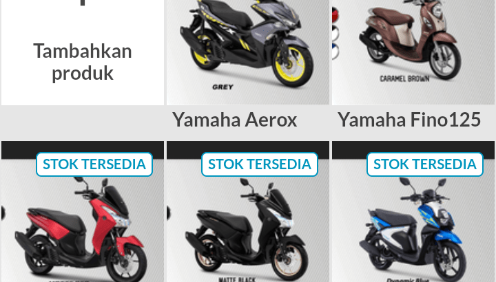 Yamaha Fino Dp 400Rb