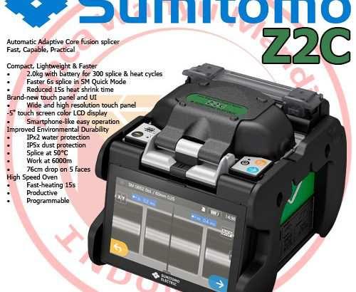 Sumitomo Z2C | Fusion Splicer – Kota Tangerang