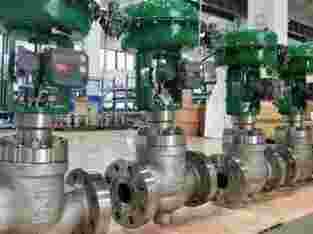 "Control valve fihser 4 """