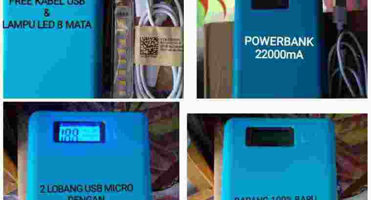 Powerbank 22000mA