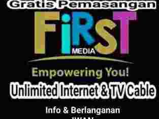 first media promo 12 bulan wifi internet unlimited tv kabel hd