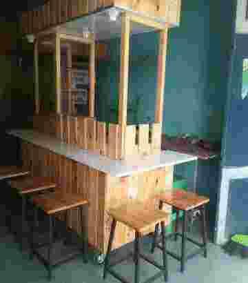 tempahan steling kayu