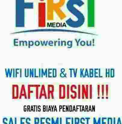 FIRST MEDIA ( wifi +tv kabel )
