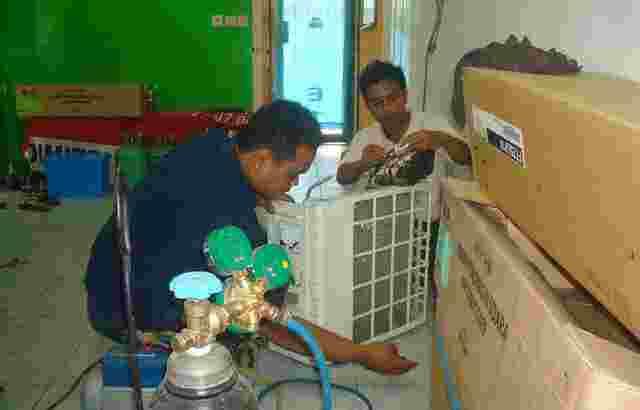 Dibutuhkan Teknisi dan Helper Teknisi AC Bali