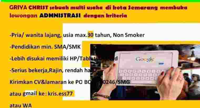 Marketing Support Semarang