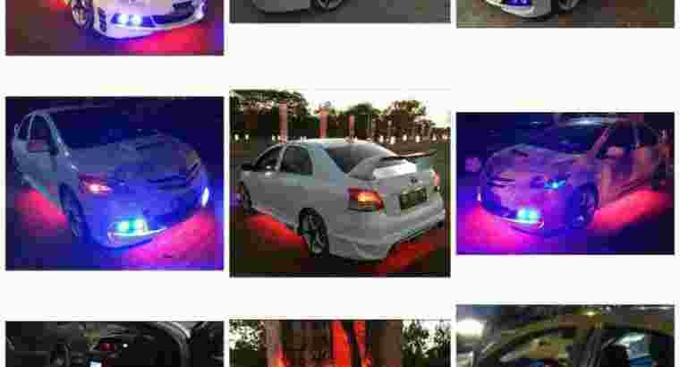 Vios, warna putih modif, thn 2011, ss lengkap, pajak hidup, ac dingin, mesin ok, siap pakai, di dps