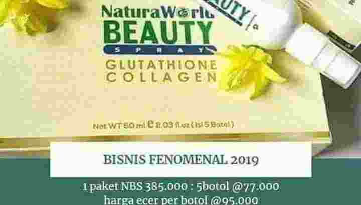 NATURA BEAUTY SPRAY 100% ORIGINAL (Paket)
