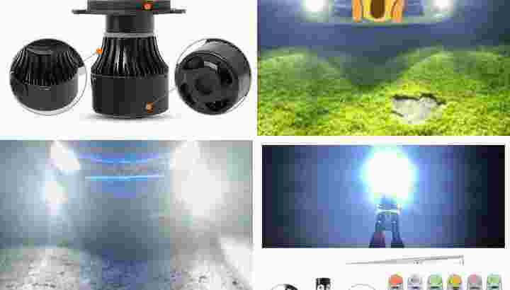 LED Headlamp H4 Superterang Siap pasang