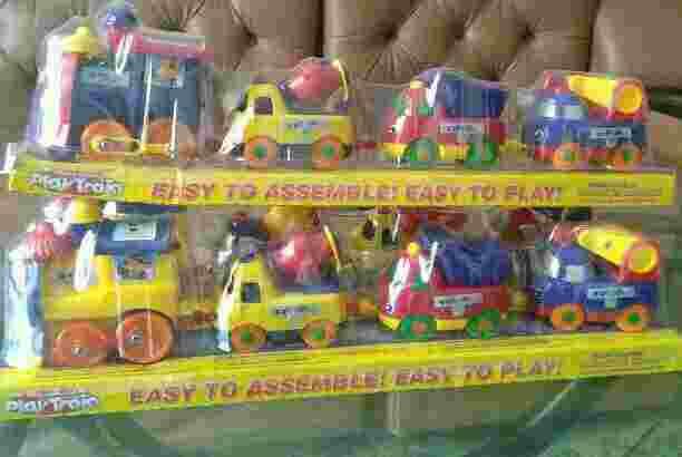 Mainan anak kereta thomas magnet play train