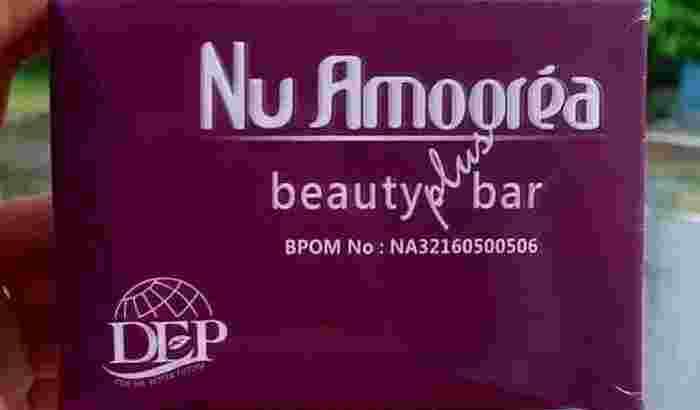 Nu Amoorea Beauty plus bar 45 gr