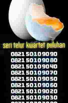 nomor cantik kuartet seri telur