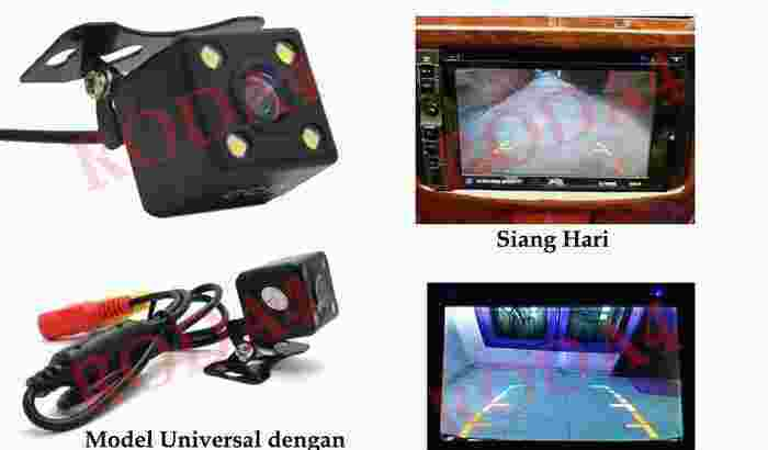 camera parkir mobil universal / car reverse camera