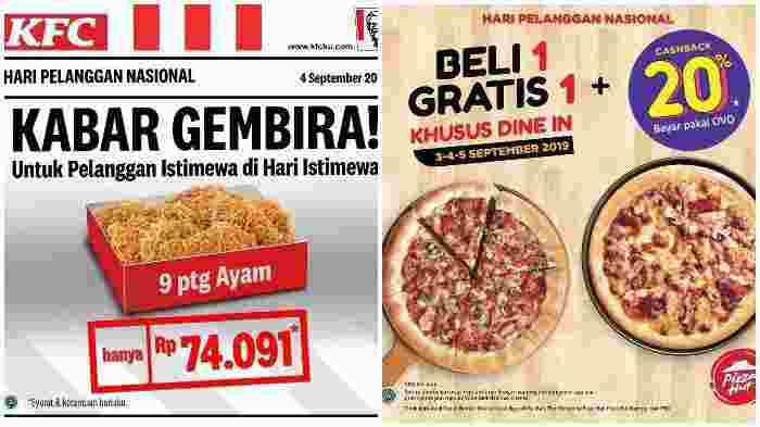 Hari Pelanggan Nasional 2019, Berikut Kumpulan Diskon dan Promo Harpelnas 4 September 2019