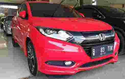 Honda Hrv Thn 2016 warna merah