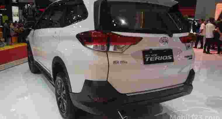 All New Terios X MT
